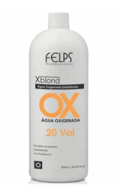 Felps Profissional Xblond OX Agua Oxigenada 20 Volumes 900ml