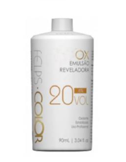 Felps Profissional Xblond OX Agua Oxigenada 20 Volumes 90ml