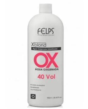 Felps Profissional Xblond OX Agua Oxigenada 40 Volumes 900ml