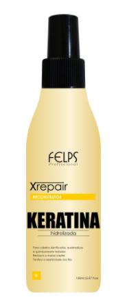 Felps Profissional Xrepair Reconstrutor Keratina Hidrolizada 150ml