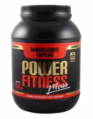 Floractive Anabolizante Capilar Power Fitness Mass 2,4kg - P
