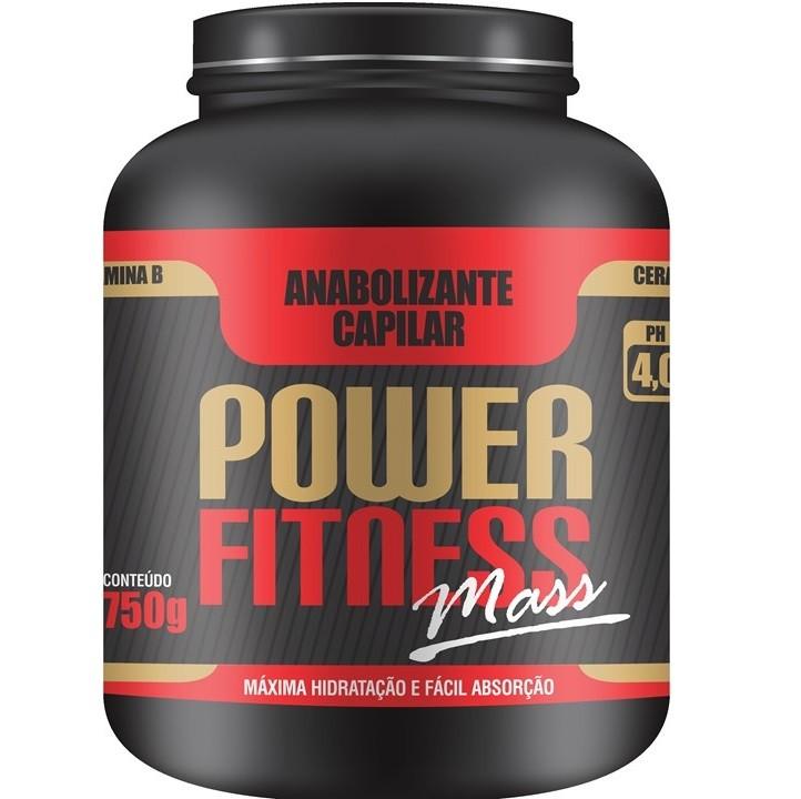 Floractive Anabolizante Capilar Power Fitness Mass 750g - P