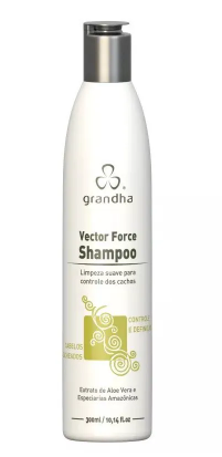 Grandha Curl & Wave Vector Force Shampoo 300ml