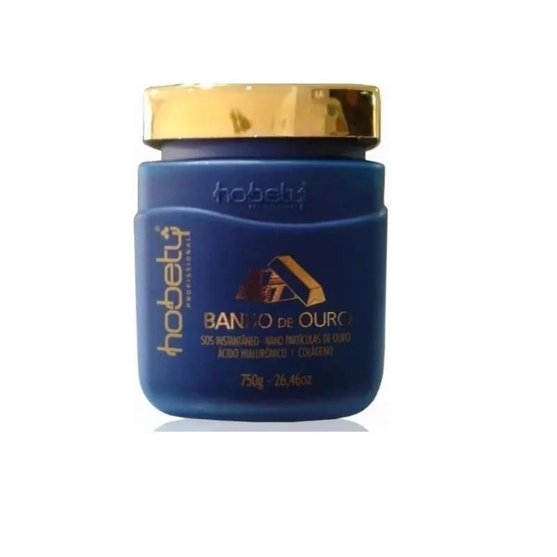 Hobety Banho de Ouro Máscara 750g
