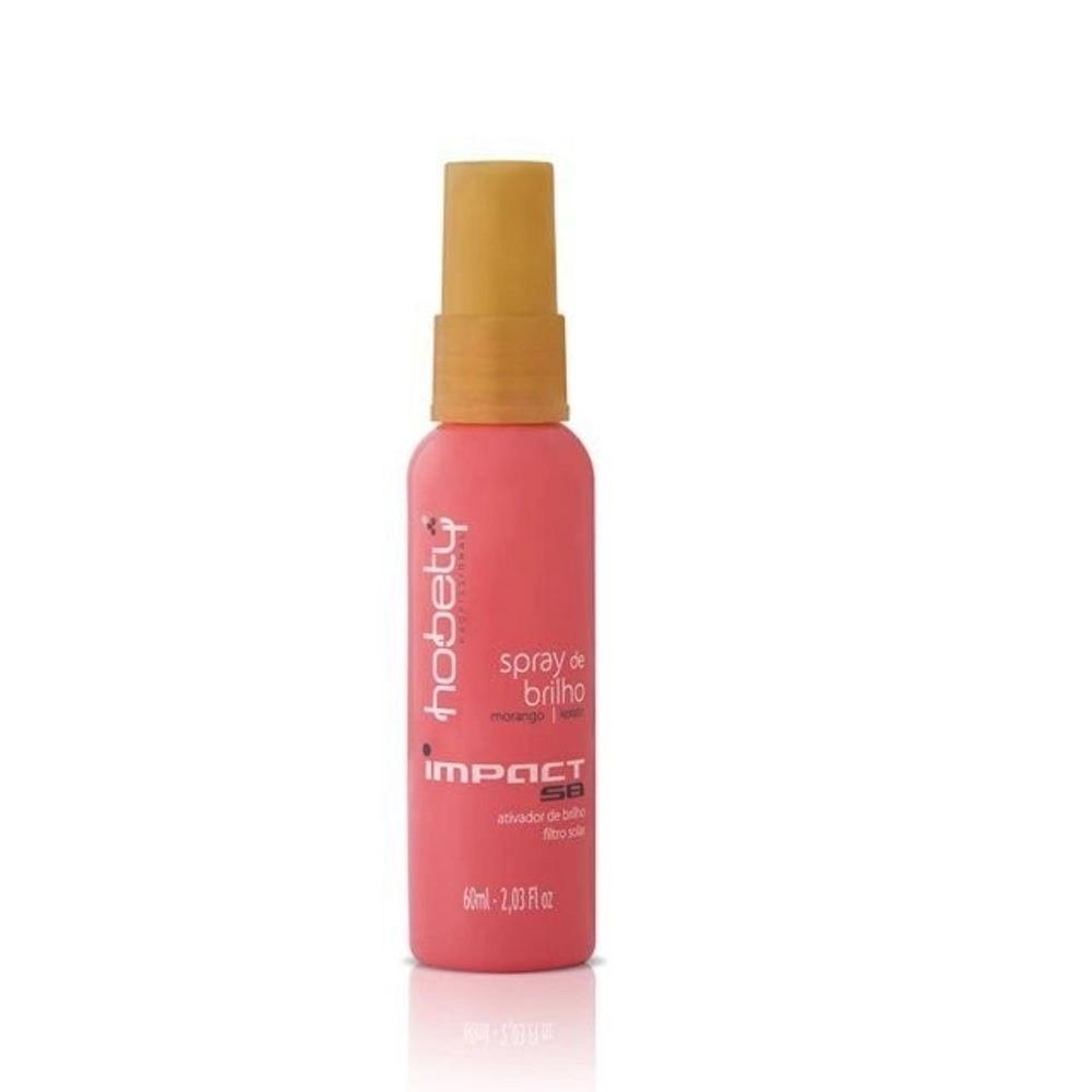 Hobety Impact Spray de Brilho Morango 60ml