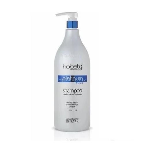 Hobety Shampoo Matizador Platinum Plus 1,5L