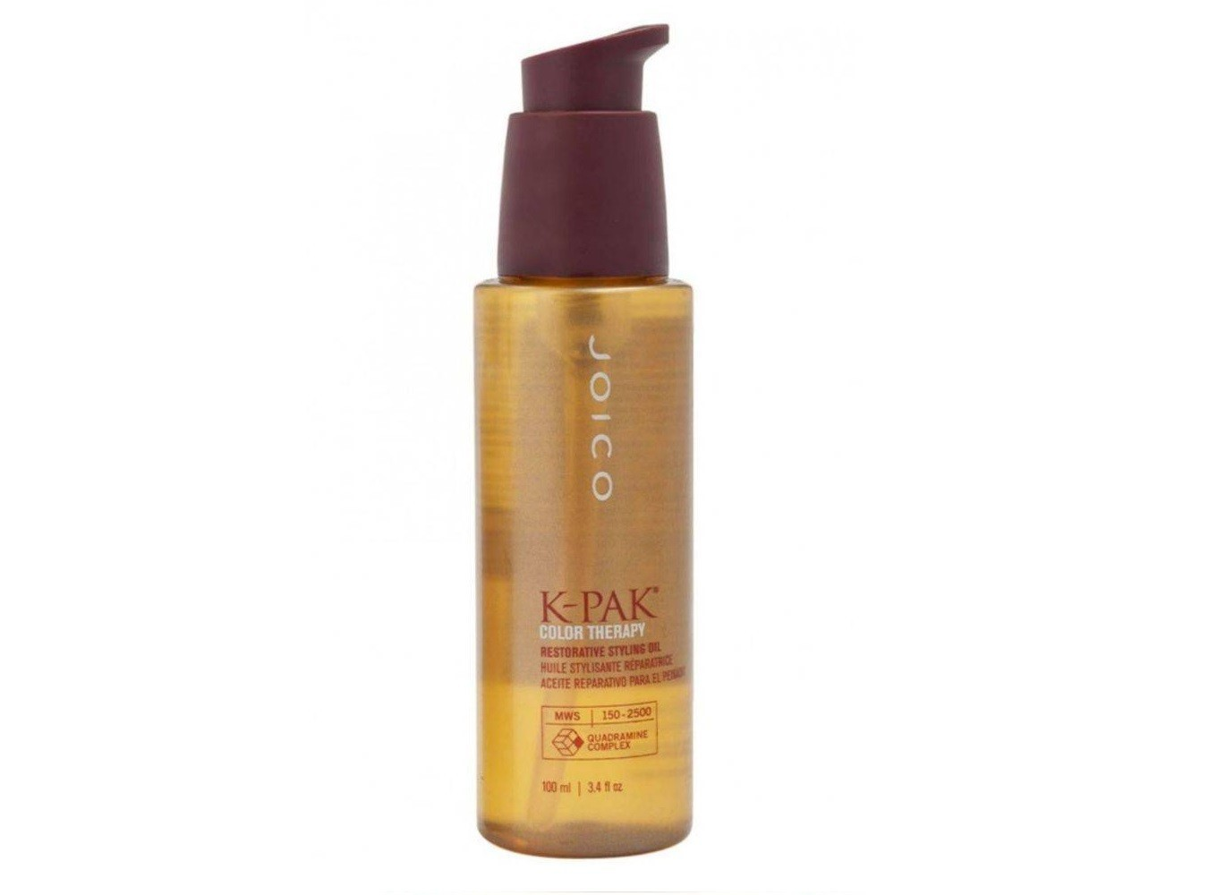 Joico K-Pak Color Therapy Restorative Styling Oil 100ml - RF