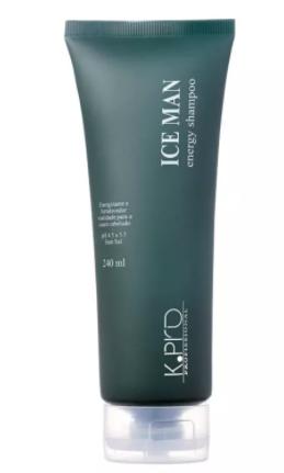 K pro Ice Man Energy Shampoo 240 ml - R