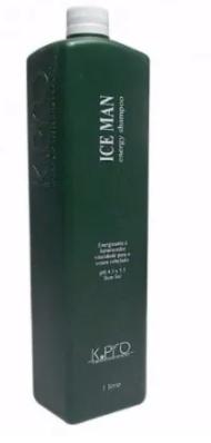 K pro Ice Man Energy Shampoo Couro Cabeludo 1 L - R