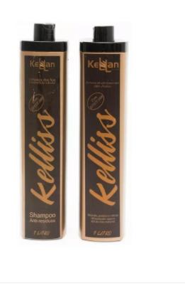 Kellan Keliss Escova Progressiva S/ Formol Shampoo + Redutor 2x1L