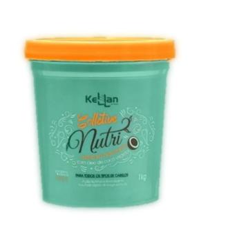 Kellan Máscara de Coco e Lípidios 1Kg - Nutrição Capilar