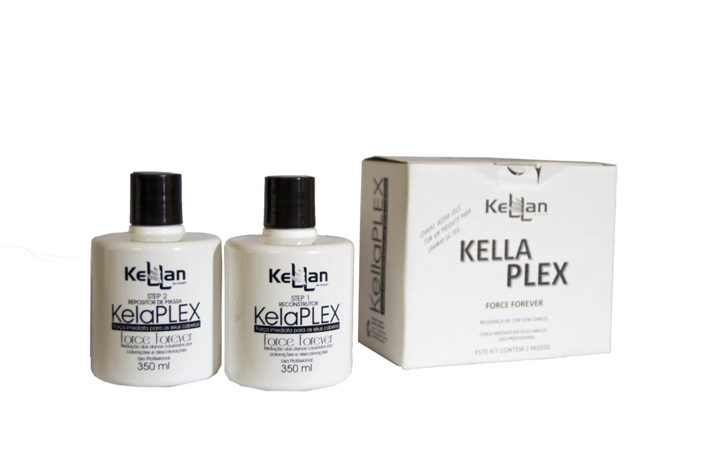 KellaPlex Kellan 2 Passos - Sistema para Descolorir os Cabelos Sem Danos!