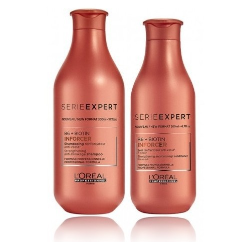 Loreal Professionnel Inforcer Kit Shampoo 500ml + Condicionador 200ml - CA