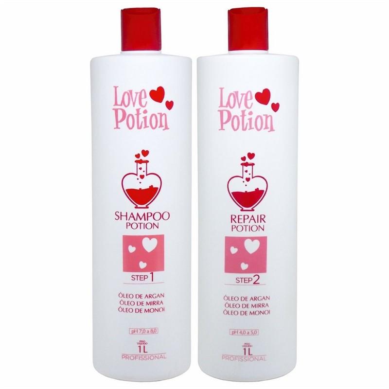 Love Potion Escova Progressiva 2x1000ml - T