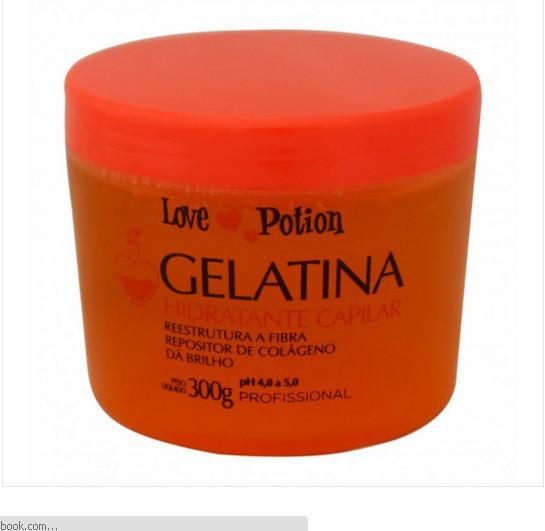 Love Potion Gelatina Capilar Máscara Hidratante 300gr - T