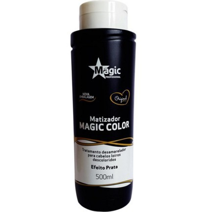 Magic Color Máscara Matizadora Efeito Prata 500ml - R