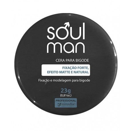 Minas Flor Cera para Bigode Soul Man - 23g