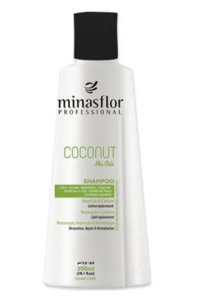 Minas Flor Coconut Mix Oils Shampoo 300ml