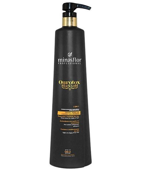 Minas Flor Condicionador 3em1 Ourotox Black Gold 1000ml