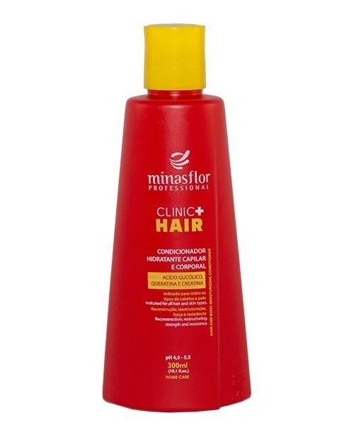 Minas Flor Condicionador Hidratante Corporal Clinic Hair 300ml
