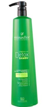 Minas Flor Condicionador Life Natural Detox Bambu 1000ml