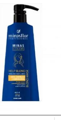 Minas Flor Help Blond Máscara para Loiras - 500ml
