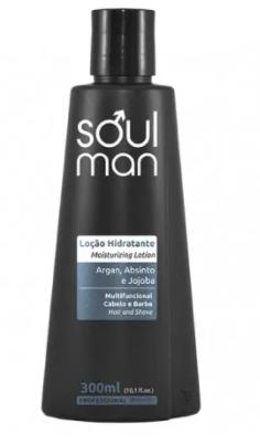 Minas Flor Loção Hidratante Soul Man - 300ml