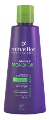 Minas Flor Shampoo Mystique Monoï Oil 300ml