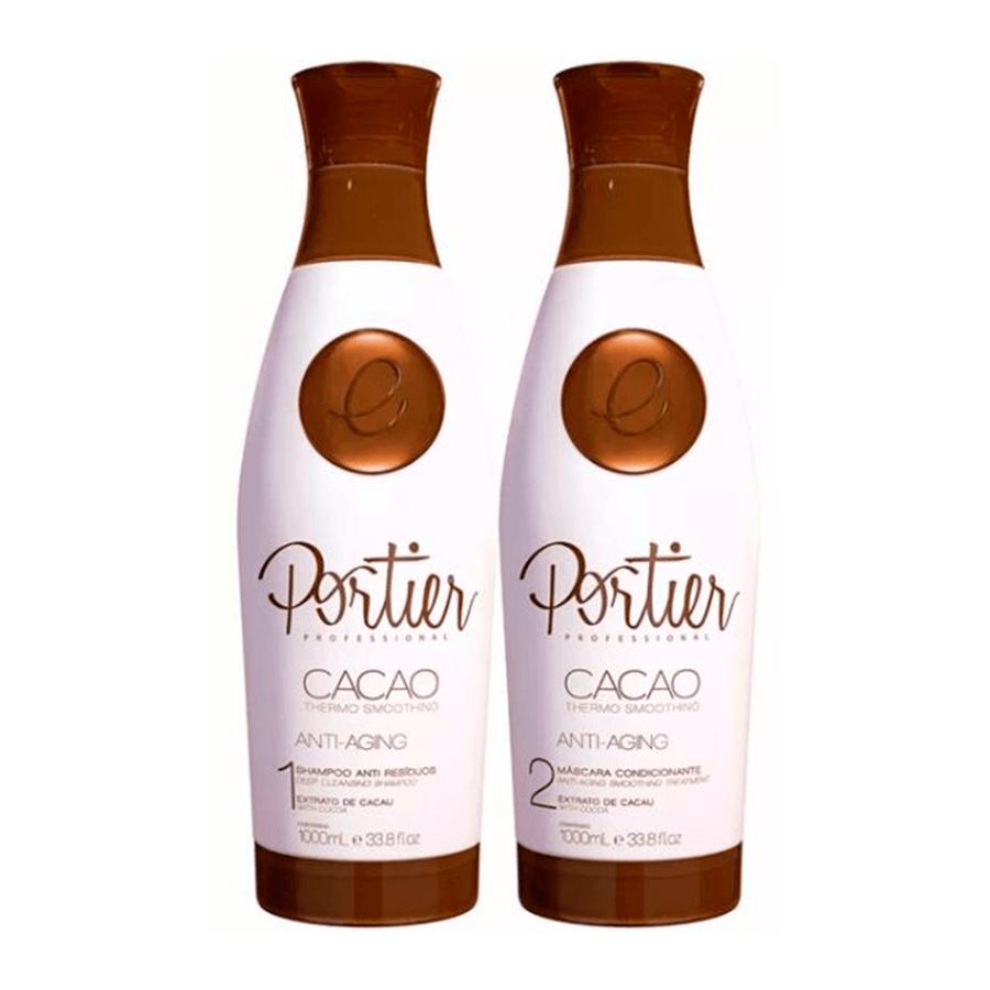 Portier Fine Escova Progressiva Cacao 2x1lt - T