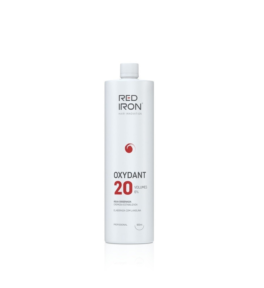 Red Iron Água Oxigenada Vol. 20 - Frasco De 900ml Ox Red Iron