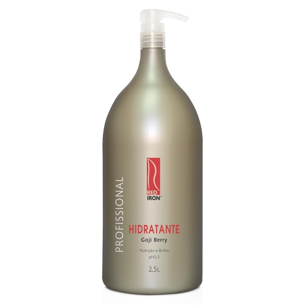 Red Iron Hidratante Goji Berry Profissional 2,5lt