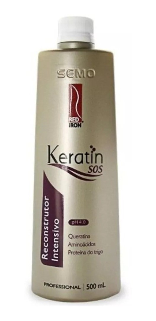 Red Iron Keratin SOS Reconstrutor Intensivo 500ml