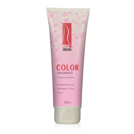 Red Iron Shampoo Color Cabelos Ressecados, Tratamento 250ml