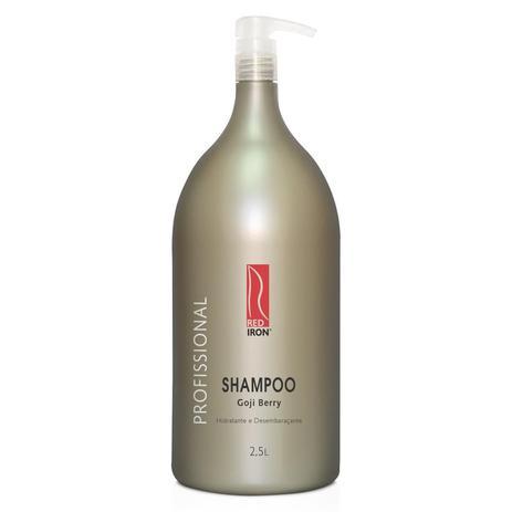 Red Iron Shampoo Goji Berry Profissional 2,5Lt