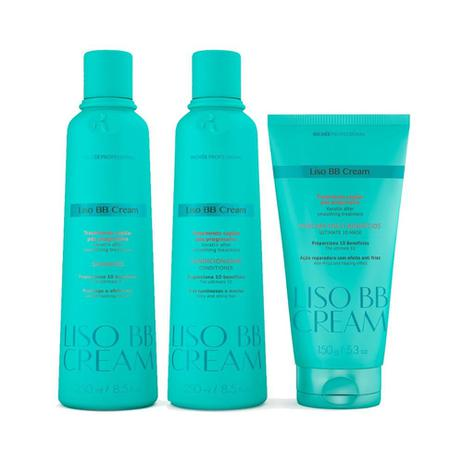 Richée Profissional BB Cream Kit Tratamento Capilar Pós Progressiva 3 produtos - T