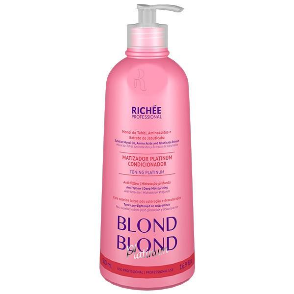 Richée Profissional Blond Matizador Platinum 500ml - T