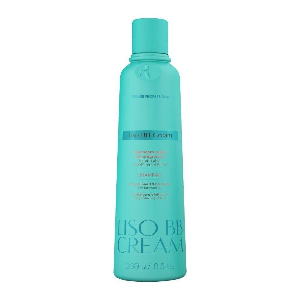 Richée Profissional Liso BB Cream Shampoo Pós Progressiva 250ml - T