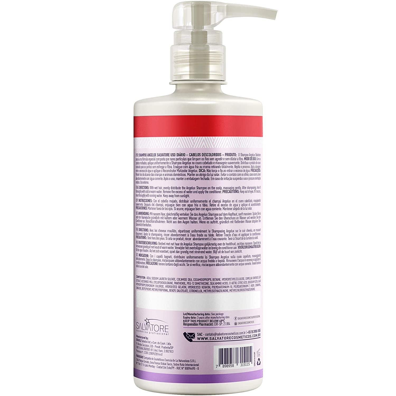 Salvatore Angelux Shampoo Matizador 480ml - R
