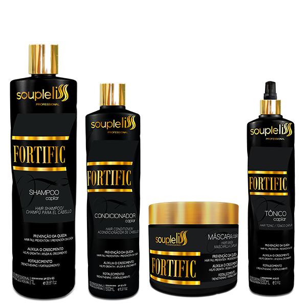 SoupleLiss Kit Fortific 4 Produtos