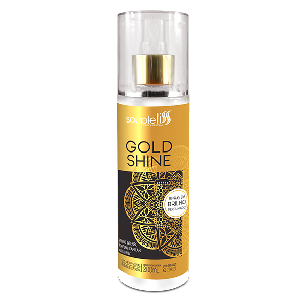 SoupleLiss Spray de Brilho Gold Shine 200ml