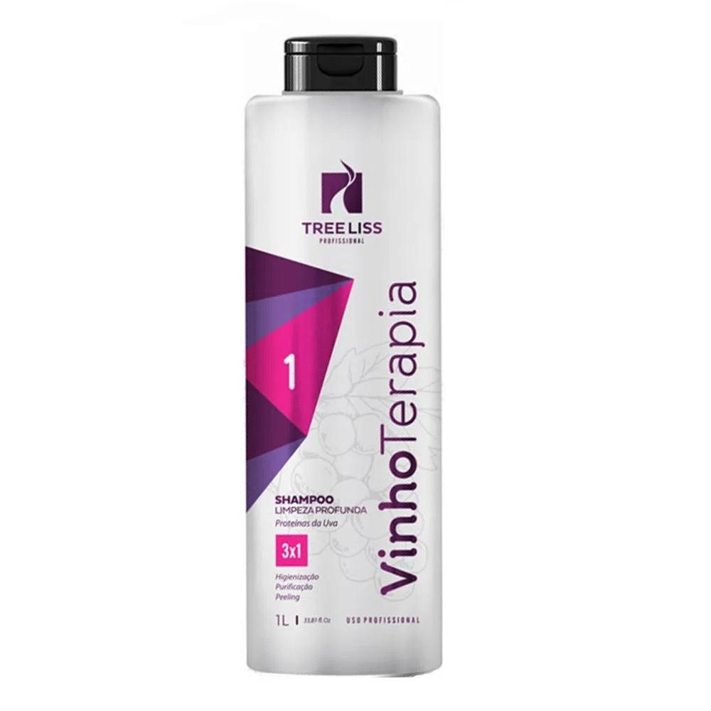 Tree Liss Vinho Terapia Shampoo 1L - R