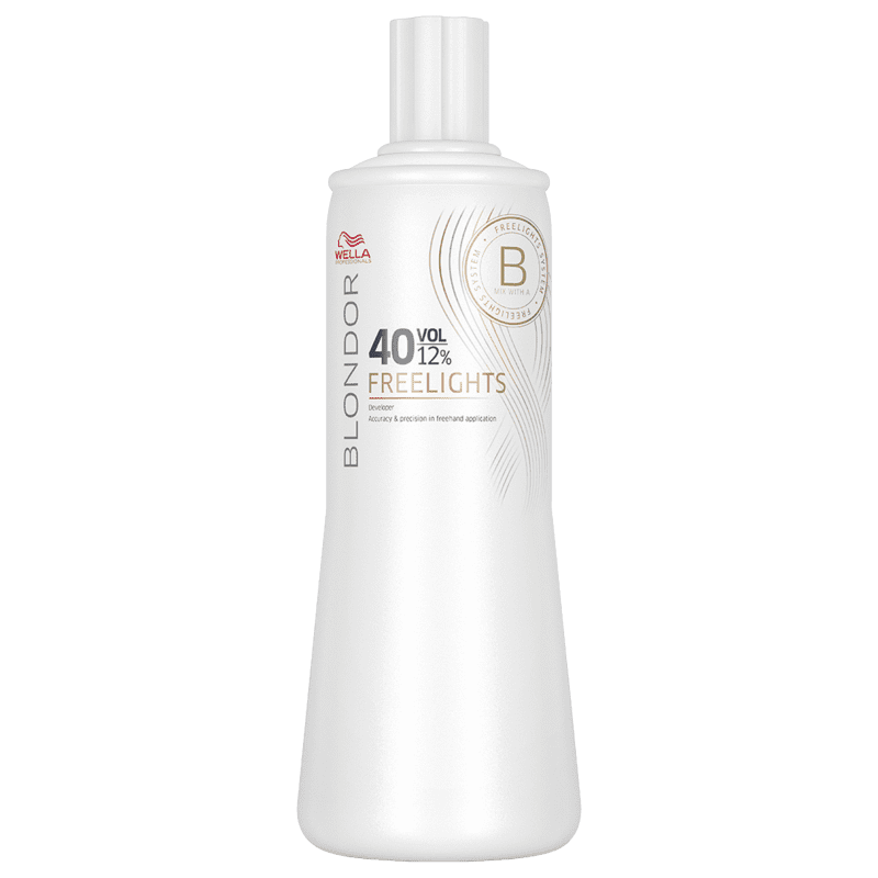 Wella Blondor Freelights Oxidante 12% 40 volumes 1000ml
