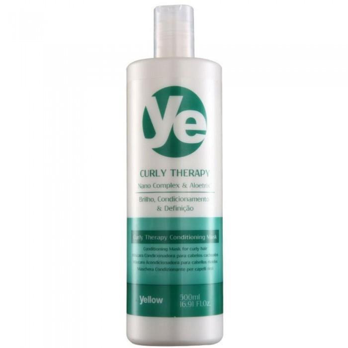 Yellow Ye  Curly Therapy Máscara Condicionadora 500ml