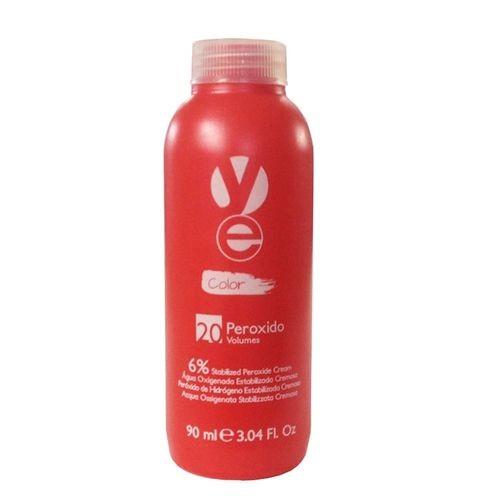 Yellow Ye Peróxido Água Oxigenada - 20 Volumes 6% - 90ml