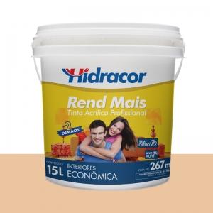 Tinta Acrilica Rendmais Fosca 15L Pessego Hidracor