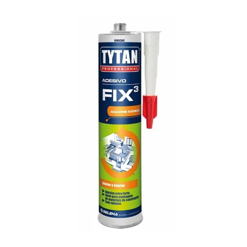 Adesivo Fix³ Bege 320G Tytan