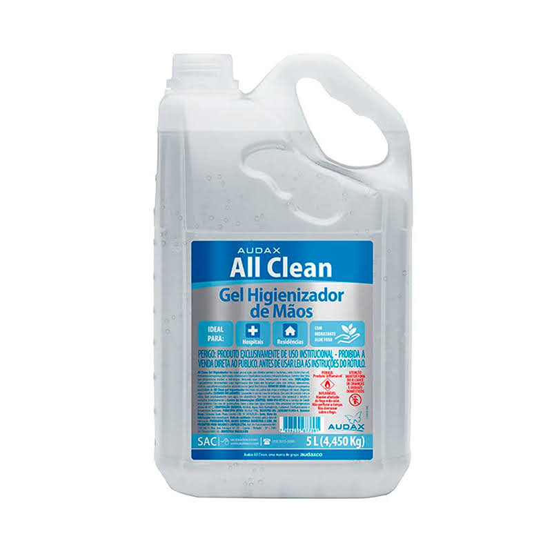 Alcool Gel 5L All Clean