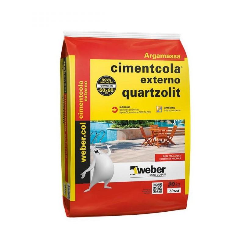 Argamassa Quartzolit 20Kg Acii Externa