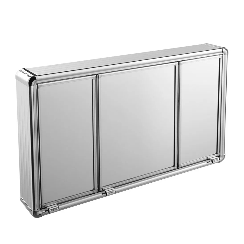 Armario Aluminio De Sobrepor 73 x 45Cm Lbp14S Astra
