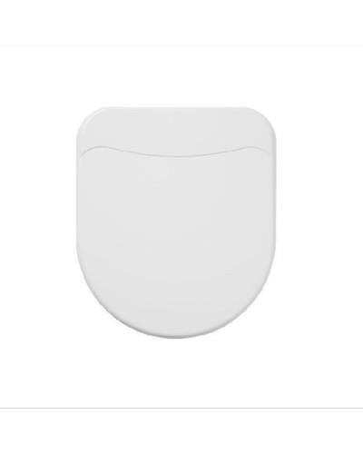 Assento Smart Riviera Soft Close Branco Celite